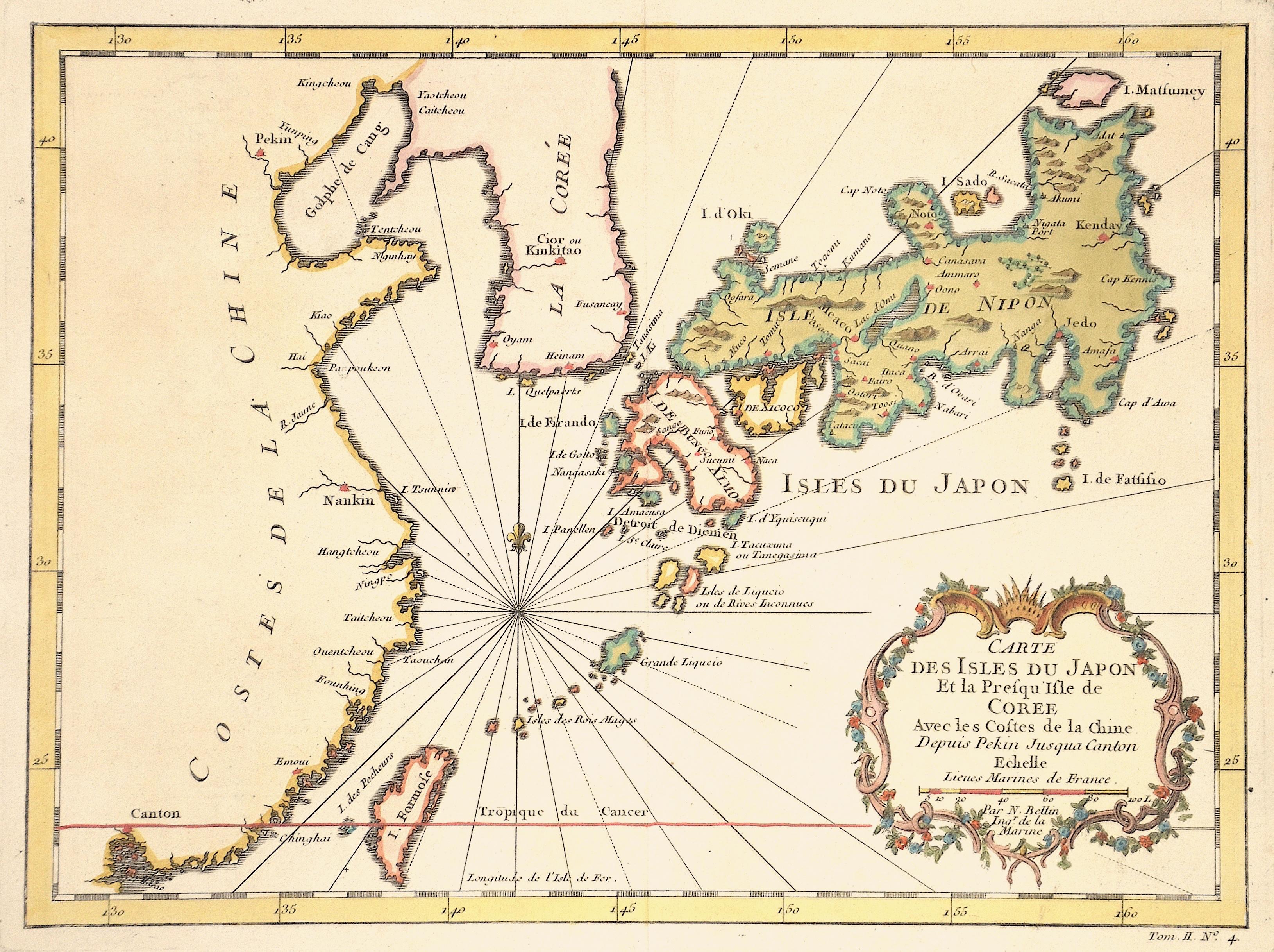 Bellin  Carte des Isles du Japon…