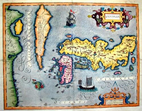 Mercator Gehard Iaponia