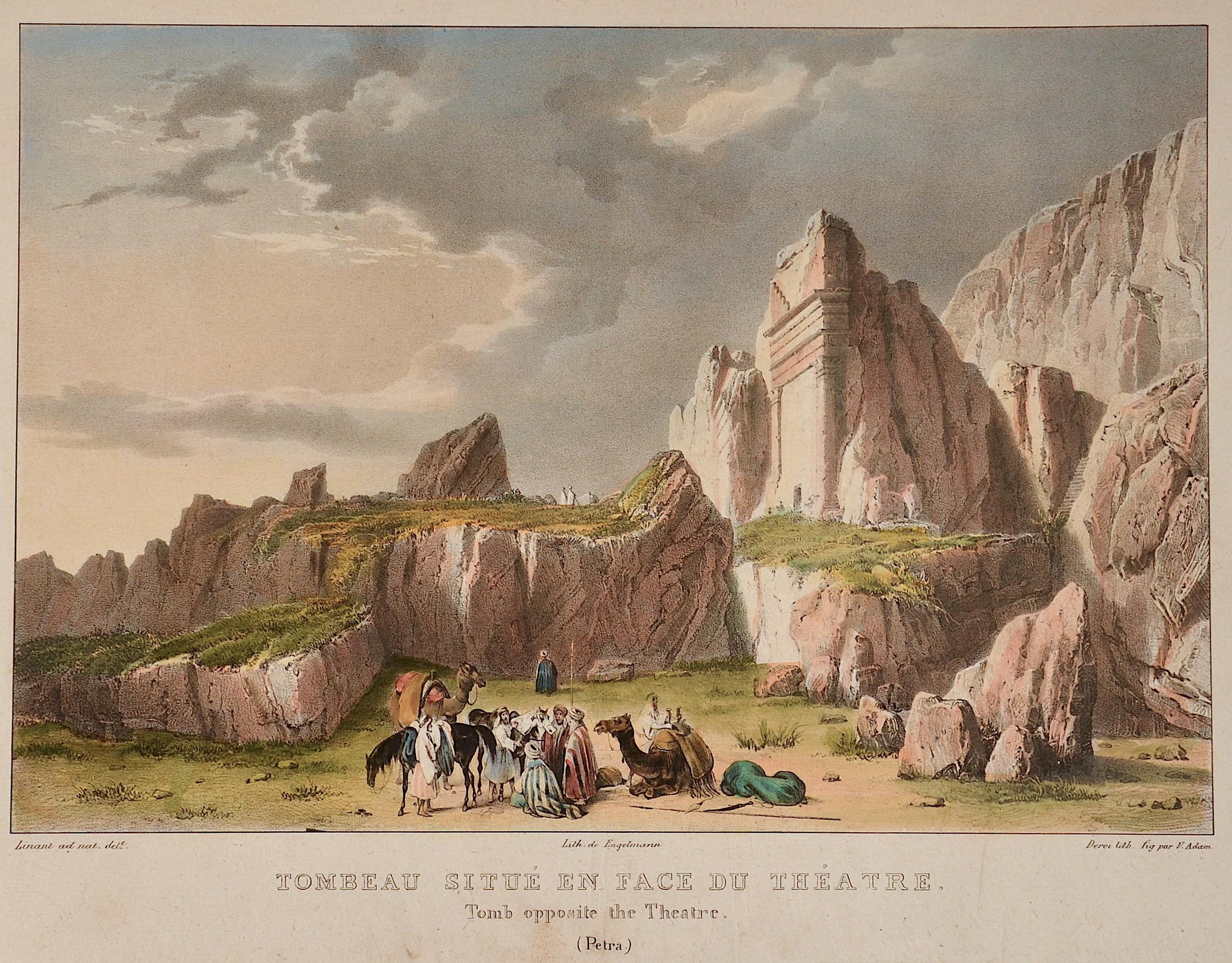 Engelmann  Tombeau situé en fac du theatre/ Tomb opposite the theatre