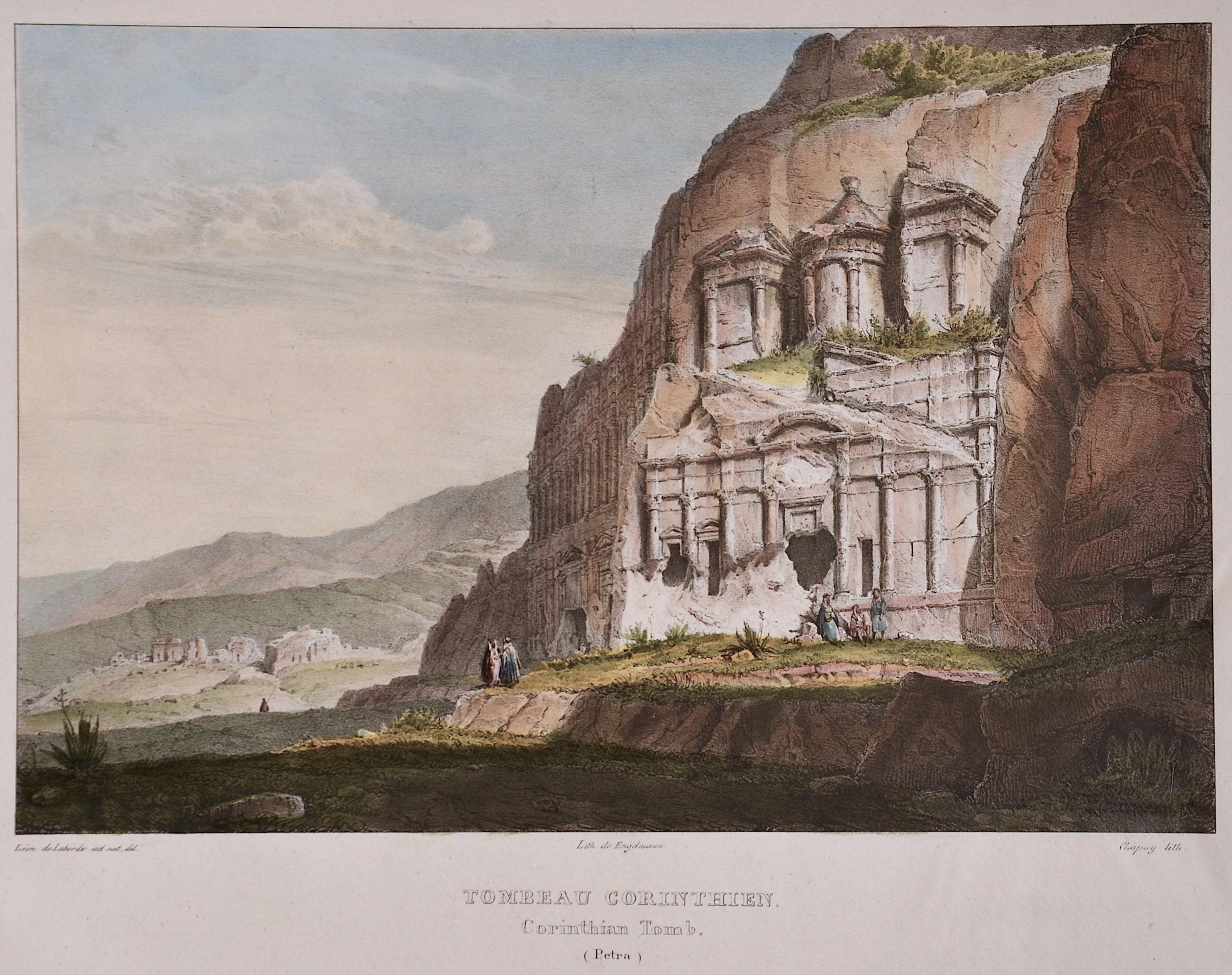 Engelmann  Tombeau Corinthien/ Corintian tomb ( Petra)