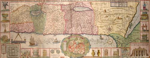 Tirinius J. Chorographia Terrae Sanctae in Angustiorem vormam redacta, et Exvariis auctoribus a multis erroribus exprgata