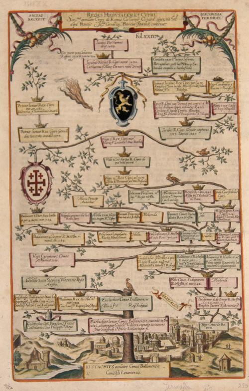 Albizzi Antonio Reges hierusalem et Cypri.