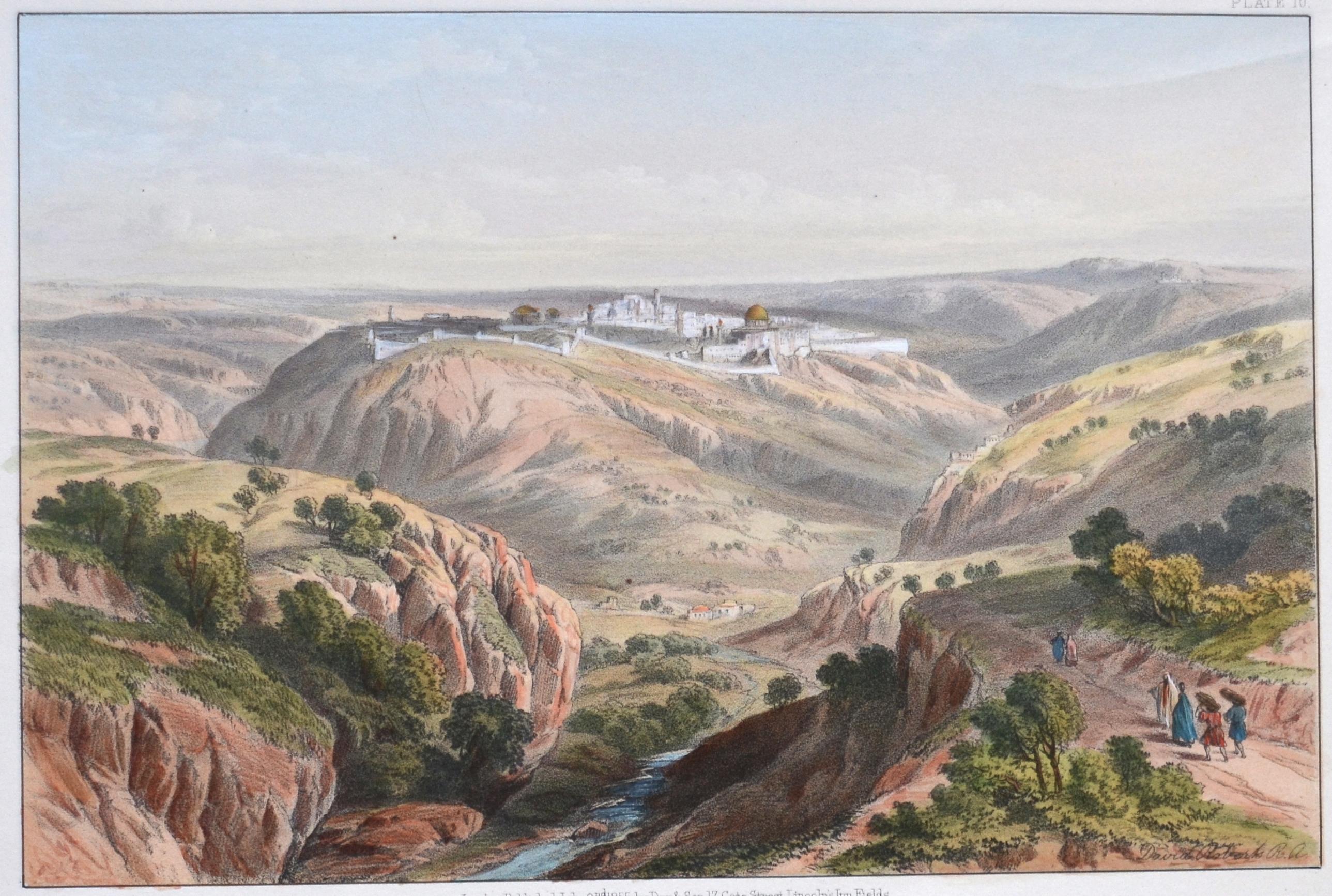 Brooks,Day & Son  Jerusalem, from the South.