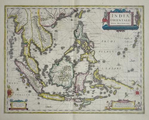 Janssonius Johann Indiae orientalis nova descriptio
