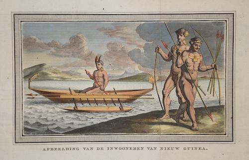 Dapper Olfert Afbeelding van de Inwooneren van Nieuw Guinea