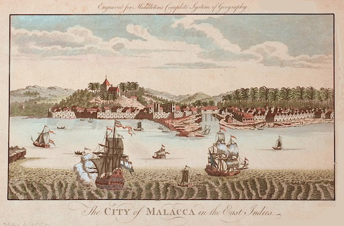 Middleton  The City of Malacca in the East Indies.