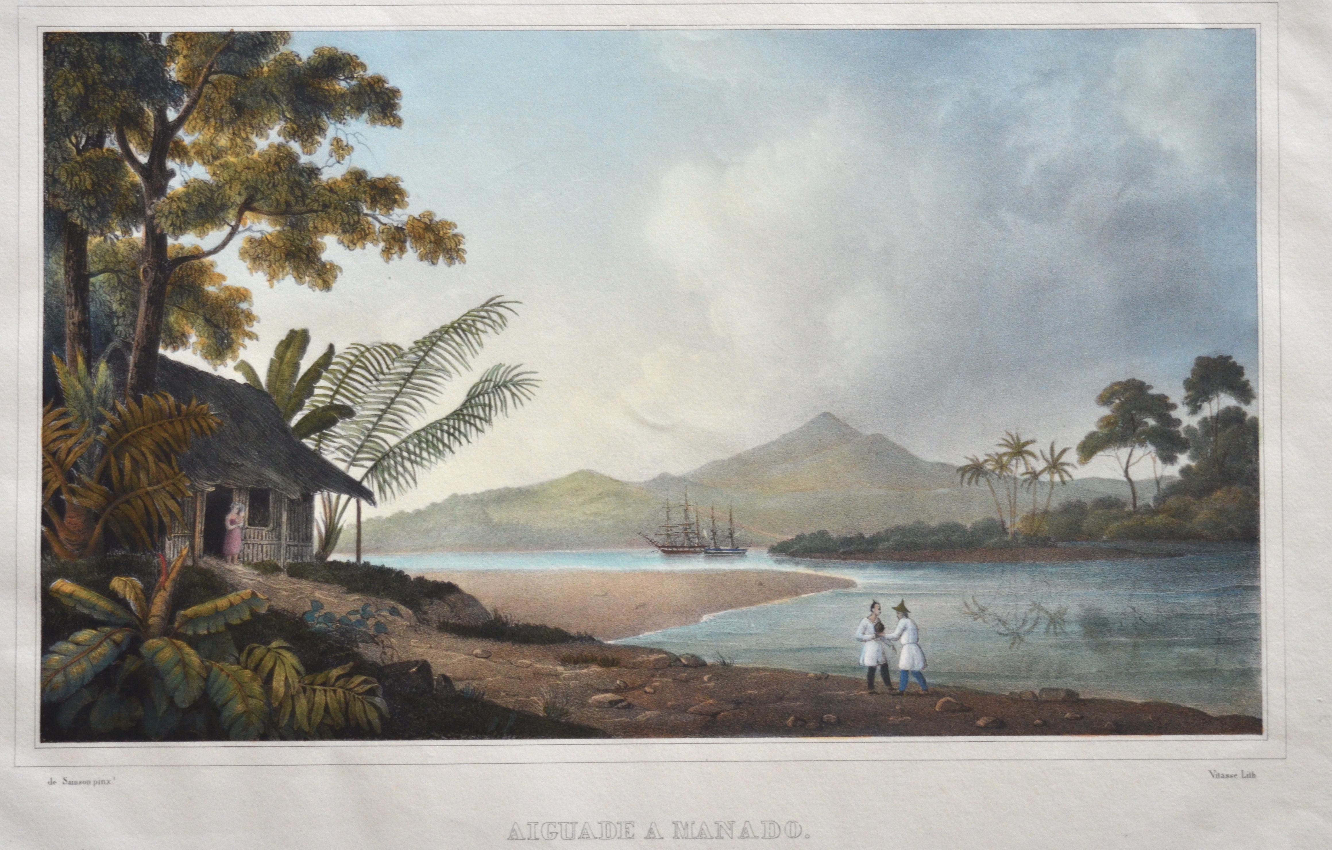 Sainson de  Aiguade a Manado. (Ile Celebes.)