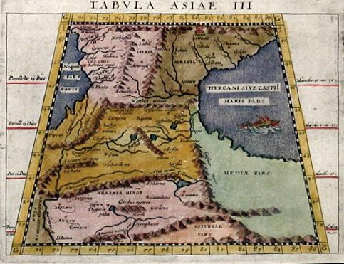 Ptolemy/Giovanni Magini Claudius Tabula Asiea III