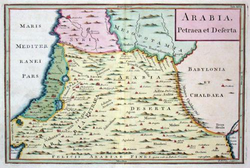 Toms  Arabia Petrea et Deserta