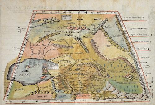 Ptolemy/ Fries Claudius/ Laurent ( Lorenz) Tabu VII Asia