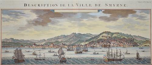 Chatelain Henri Abraham Description de la ville Smyrne
