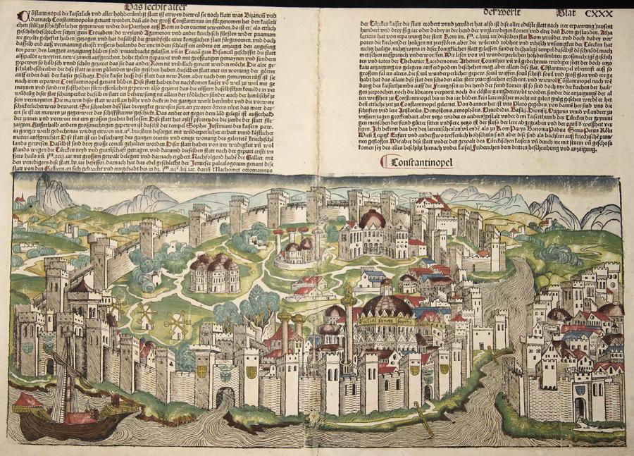 Schedel Hartman Constantinopolis