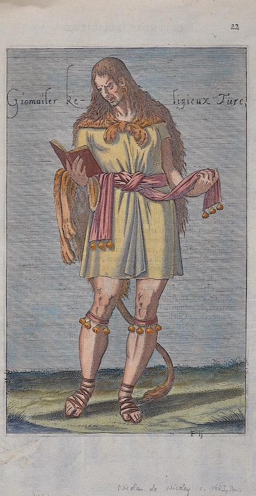 Nicoley Nicolas de Giomaiser Religieux Turc,