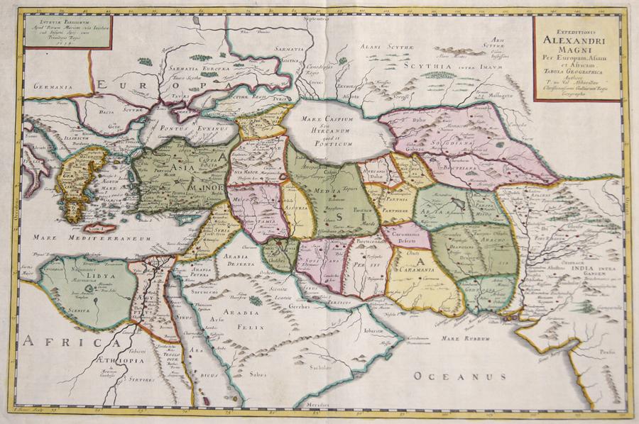 Val, du Pierre Expeditionis Alexandri Magni Per Europam, Asiam et Africam.