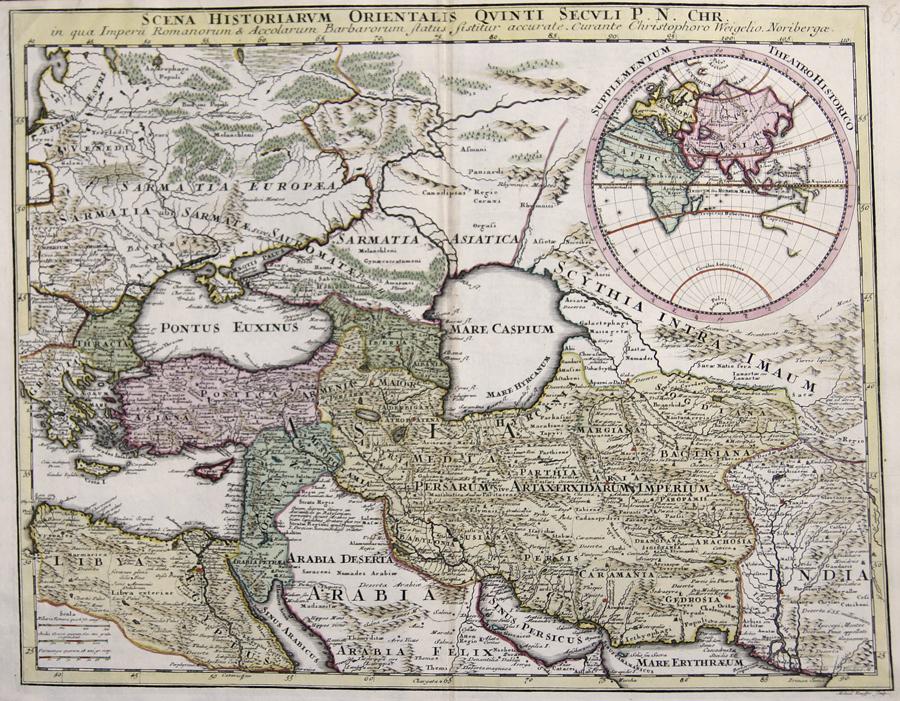 Weigel Christoph Scena Hiostoriarum Orientalis Quinti Seculi P.N. Chr.