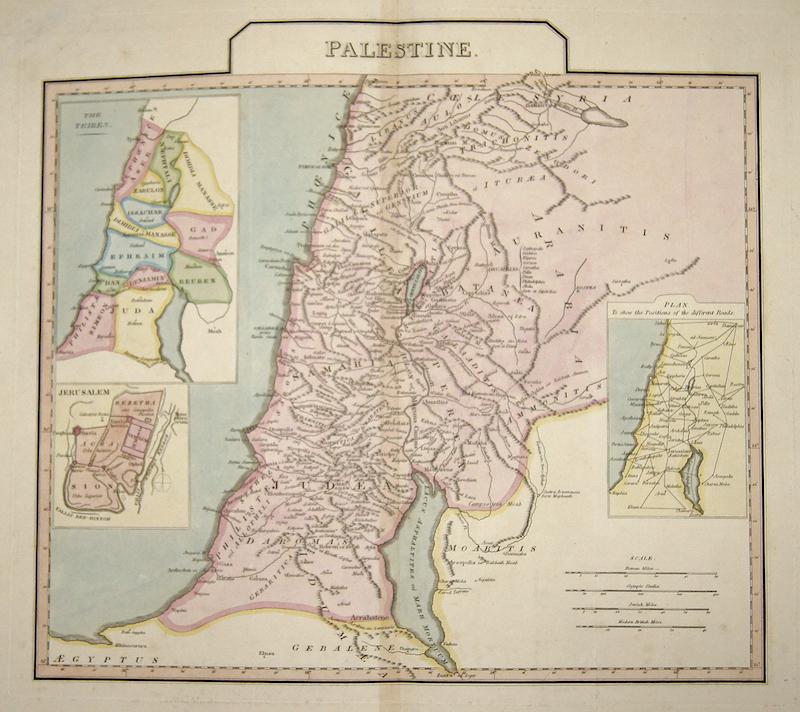 Anville´d Jean Babtiste Palestine.
