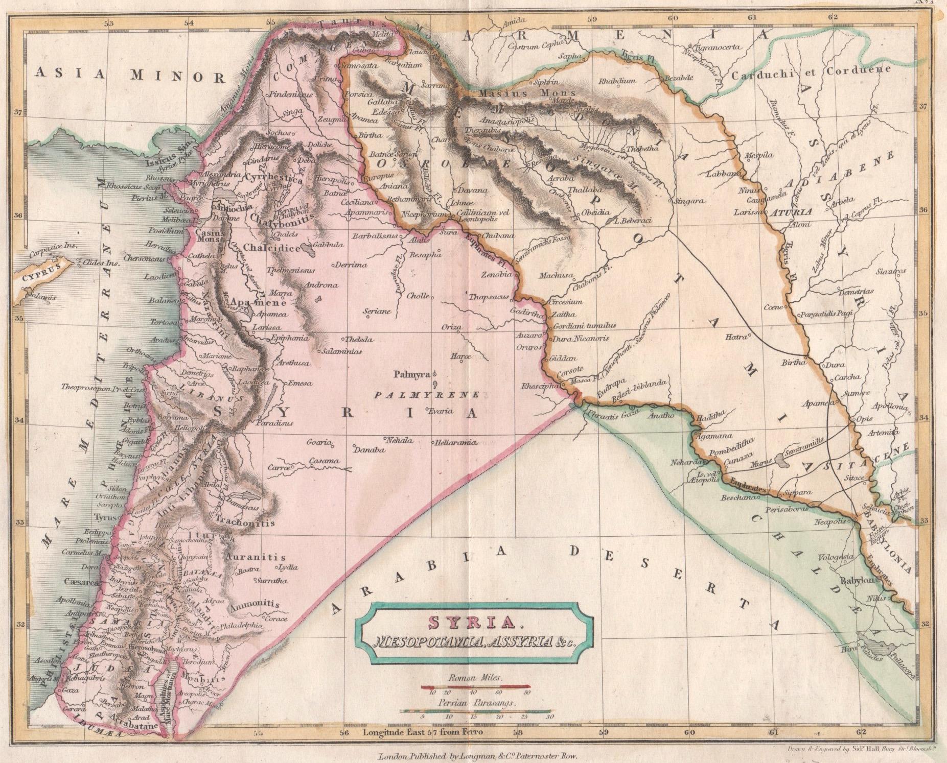 Hall  Syria, Mesopotamia, Assyria & c.