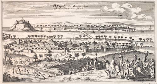 Bouttats Gaspar Hella in Babilonie ost Caldea nu Irak.