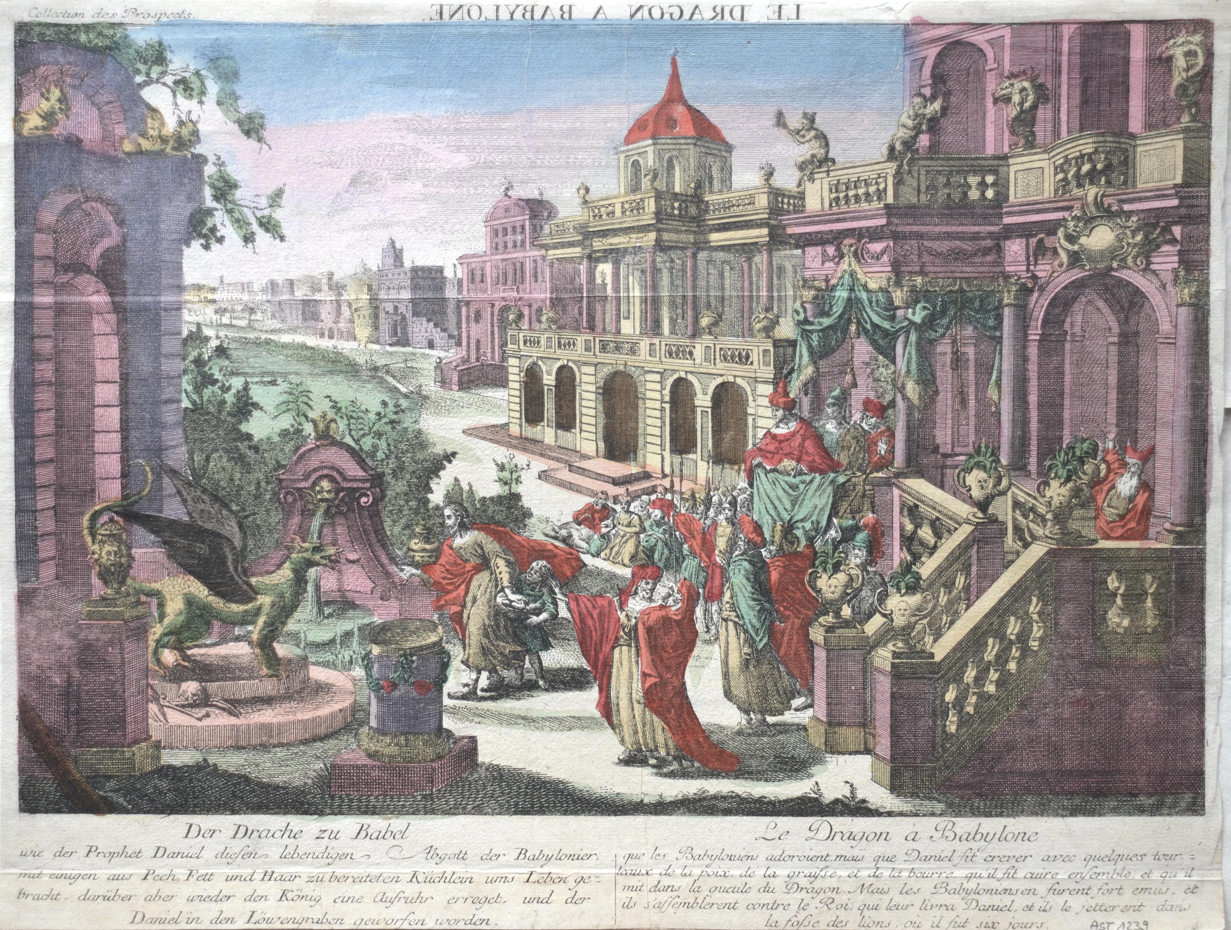Probst Georg Balthasar Der Drache zu Babel / Le Dragon à Babylone