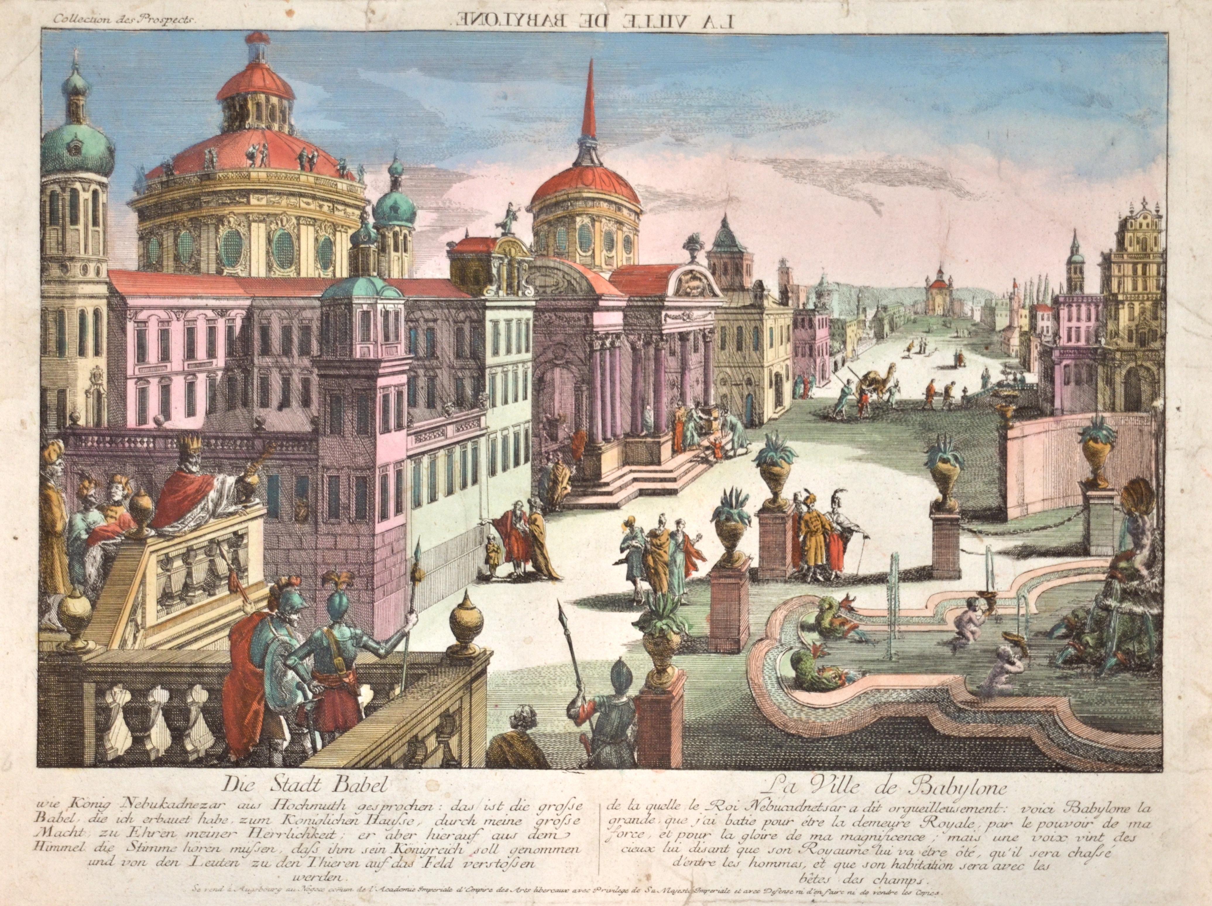 Probst  Die Stadt Babel / La Ville de Babylone