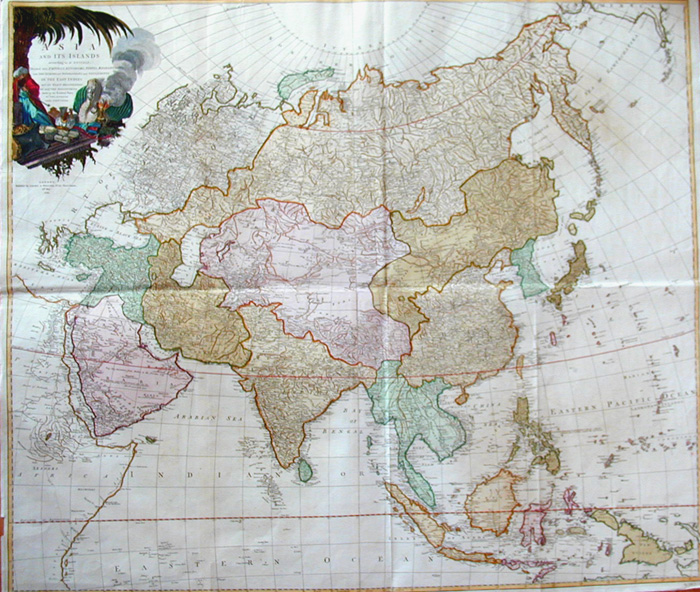 Anville´d Jean Babtiste Asia and its Islands
