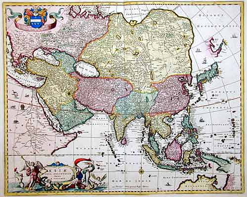 Visscher  Asiae nova delineatio