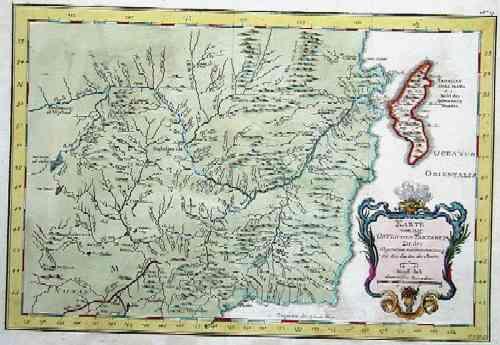 Bellin  Karte von der ostlichen Tartarey zu der allgemeinen Reisebeschreibung aus den Karten der Jesuite