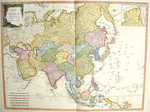 Reilly  Karte von Asien……