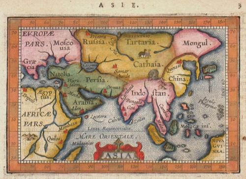 Ortelius Abraham Asia