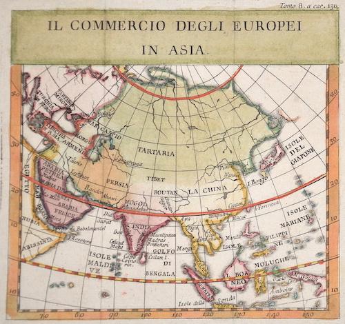 Anonymus  Il commercio degli Europei in Asia