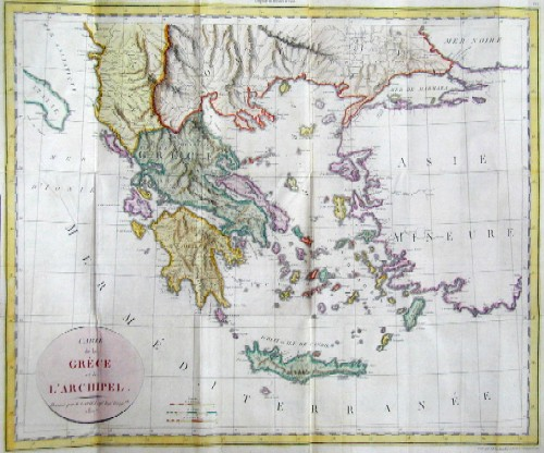 Tardieu Jean Baptiste Voyage en Grece, fait dans les annes 1803 et 1804 par J.L.S. Bartholdy