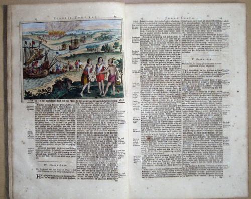Aa, van der Peter Scheeps- Togt van Johan Smith na Viginia in het Jaar 1606 en Vervolgens