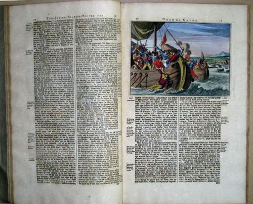 Aa, van der Peter Vervolg der tien Jarige Scheeps- Togten En Manhafte Krygs- Bedryven Door Nuno da Cunha als Gouverneur Generaal gedaan in Oost- Indien 1536…