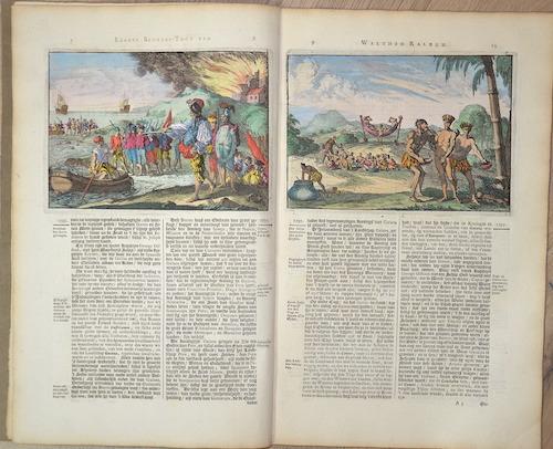 Aa, van der  Drie Scheeps- Togten Na het Goud- rijke Koningrijk Guiana In America gelegen, Door den Engelssen Ridder Walther Ralegh 1595….