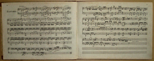 Härtel- Breitkopf Oeuvers compettes de Wolfgang Amadeus Mozart……XIV differents Pieces pour le Piano forte par w. A. Mozart