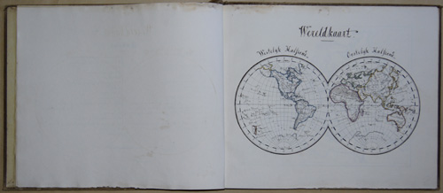 Haape J.T. Atlas per Geheele Aarde in 31 Kaarten