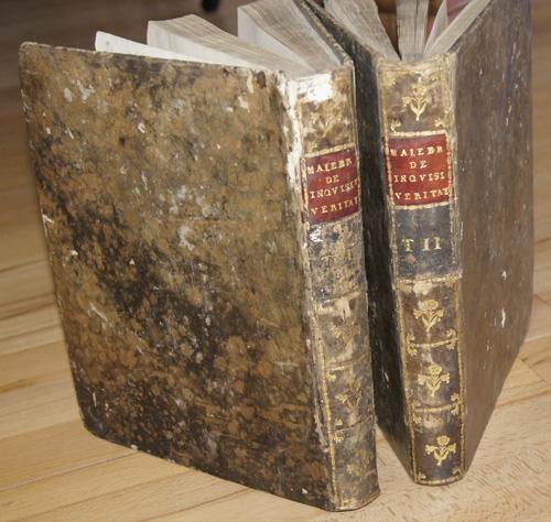Malebranche N. Tractus de inquisatione veritatis.Versio novissima priori auctior multo et accuratior, 2 Bde