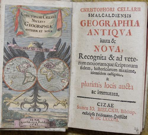 Weigel Christoph Christophori Cellarii, Malcaldiensis Geographia Antiqua iuxta Nova…..