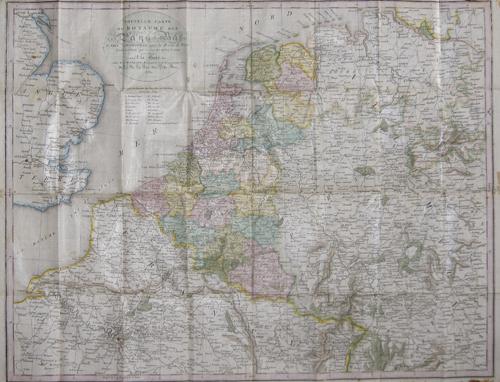 Weygand F.J. Nouvelle Carte de Poste du Royaume des Pays- Bas..
