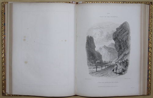 Brockedon William Illustrations of the passes of the Alps, by which Italy comunicates with France, Switzerland, and Germany.