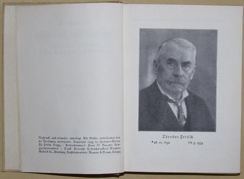 Fritsch  Theodor Fritsch Handbuch der Judenfrage. Die wichtigsten Tatsachen zur Beurteilung des Jüdischen Volkes