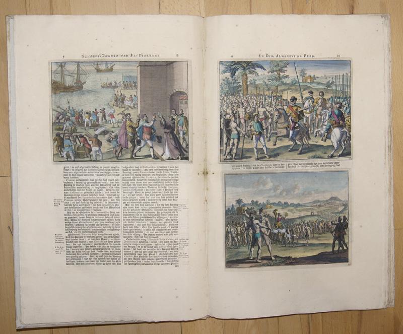 Aa, van der  Seer Aanmerkelijke Scheeps- Togten, Gedaan door Franciscus Pizarrus, en Didacus Almagrus, van Panama na Peru in den Jahre 1526..