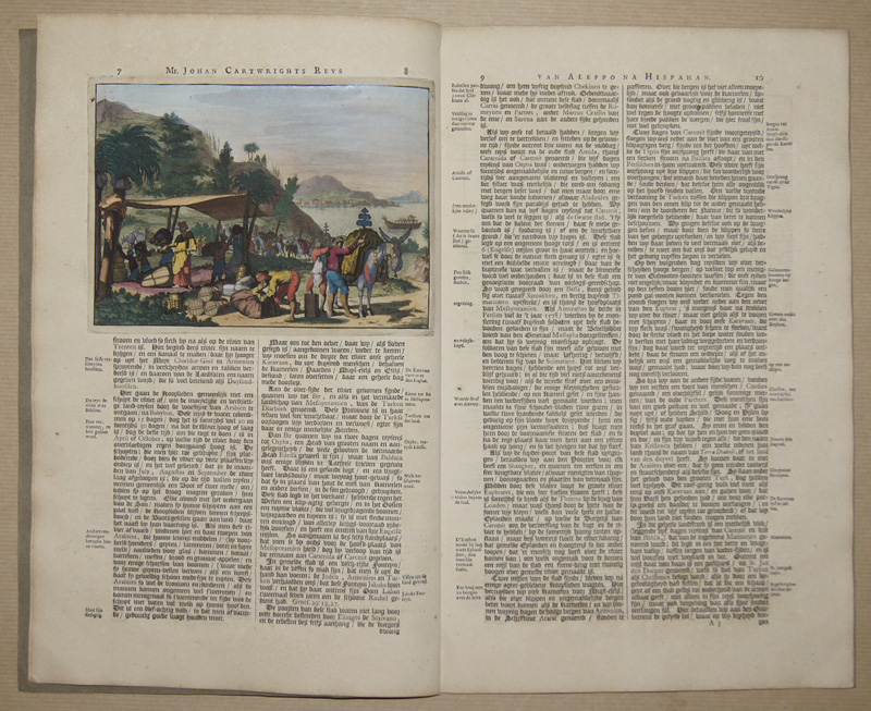 Aa, van der Peter Oost- indise Voyagien van Johan Mildenhal en Johan Cartwright..