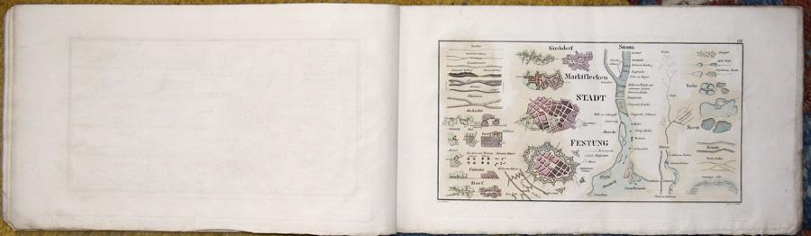 Herbig Friedrich August Funfzehn Kupfertafeln zur zweiten Auflage vom Militair-Zeichnen.
