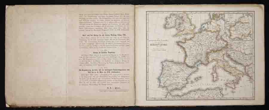 Perthes Justus Dr. K. von Spruner's Historisch-Geographischer Schul-Atlas.