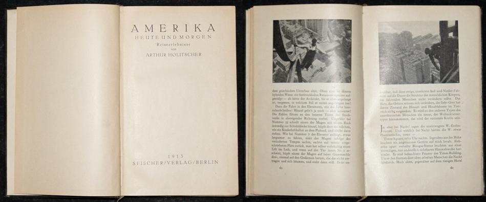 Fischer Verlag S. Amerika heute und morgen Reiseerlebnisse von Arthur Holitscher