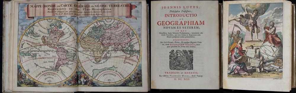 Sanson Guillaume Joannis Luyts, Philosophiae Professoris, Introductio ad Geographiam novam et Veterem; in qua…