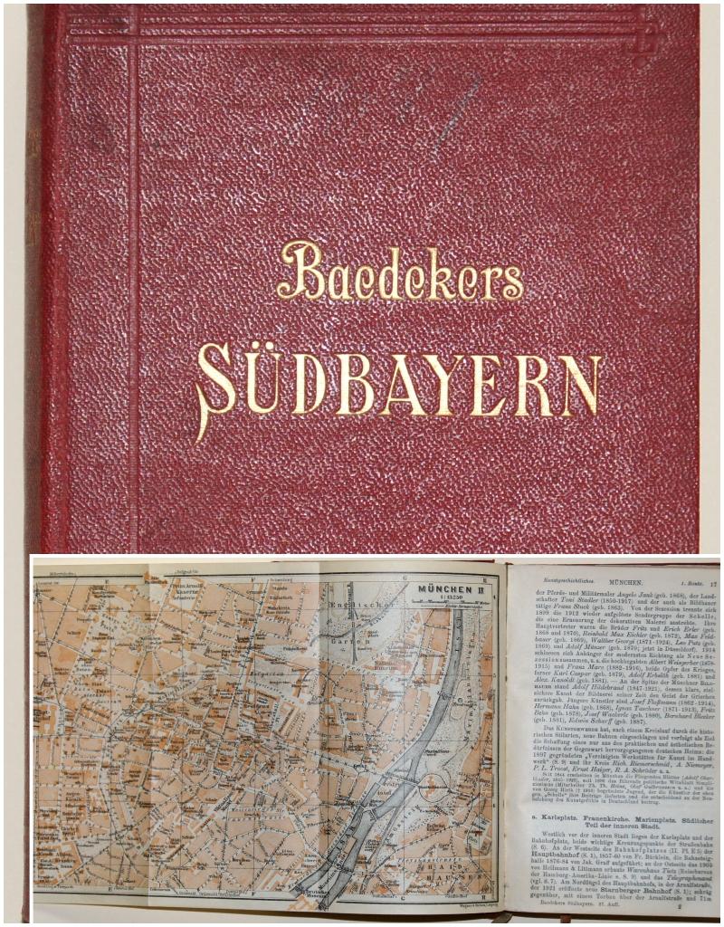 Baedecker Ch. Baedecker- Südbayern