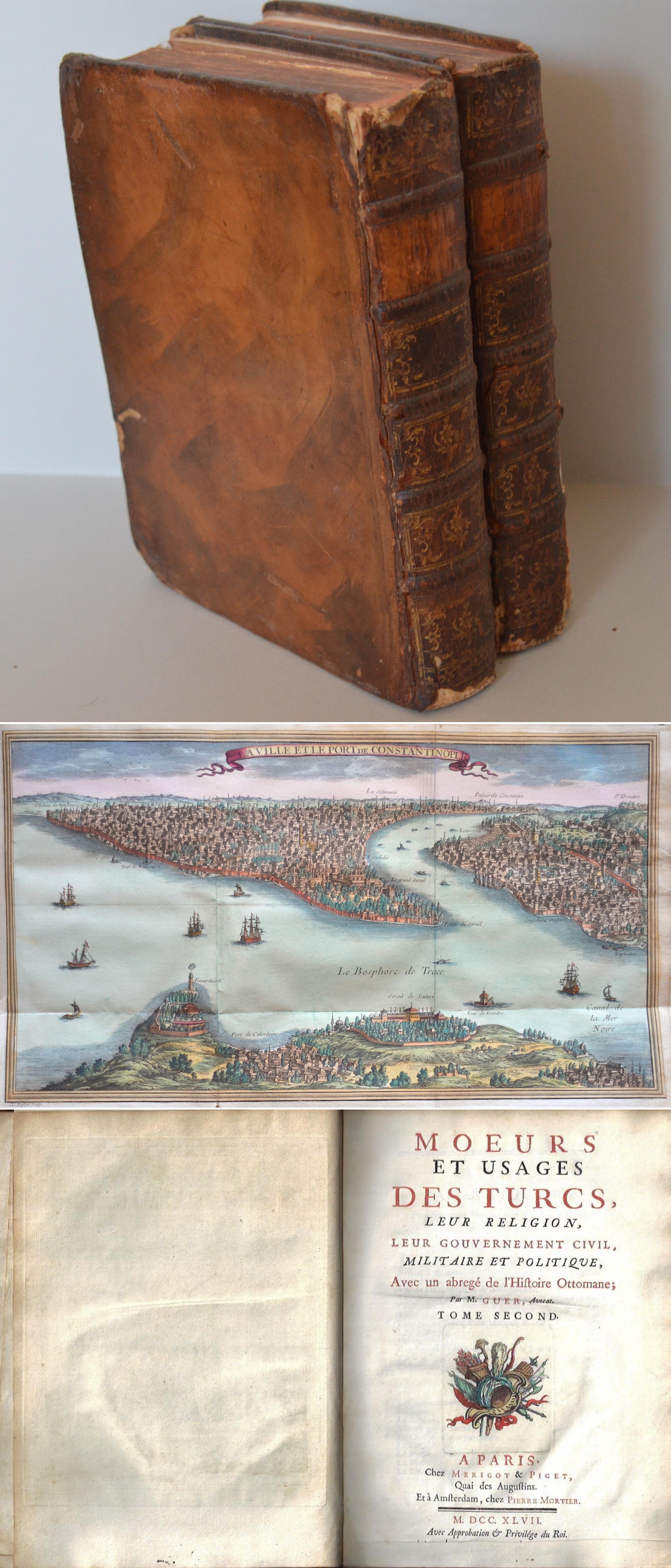 Mortier Peter Moeurs et usages des Turcs, leur Religion, leur Gouvernement Civil, Militaire et Politique, Avec un abregé de l'Histoire Ottomane;