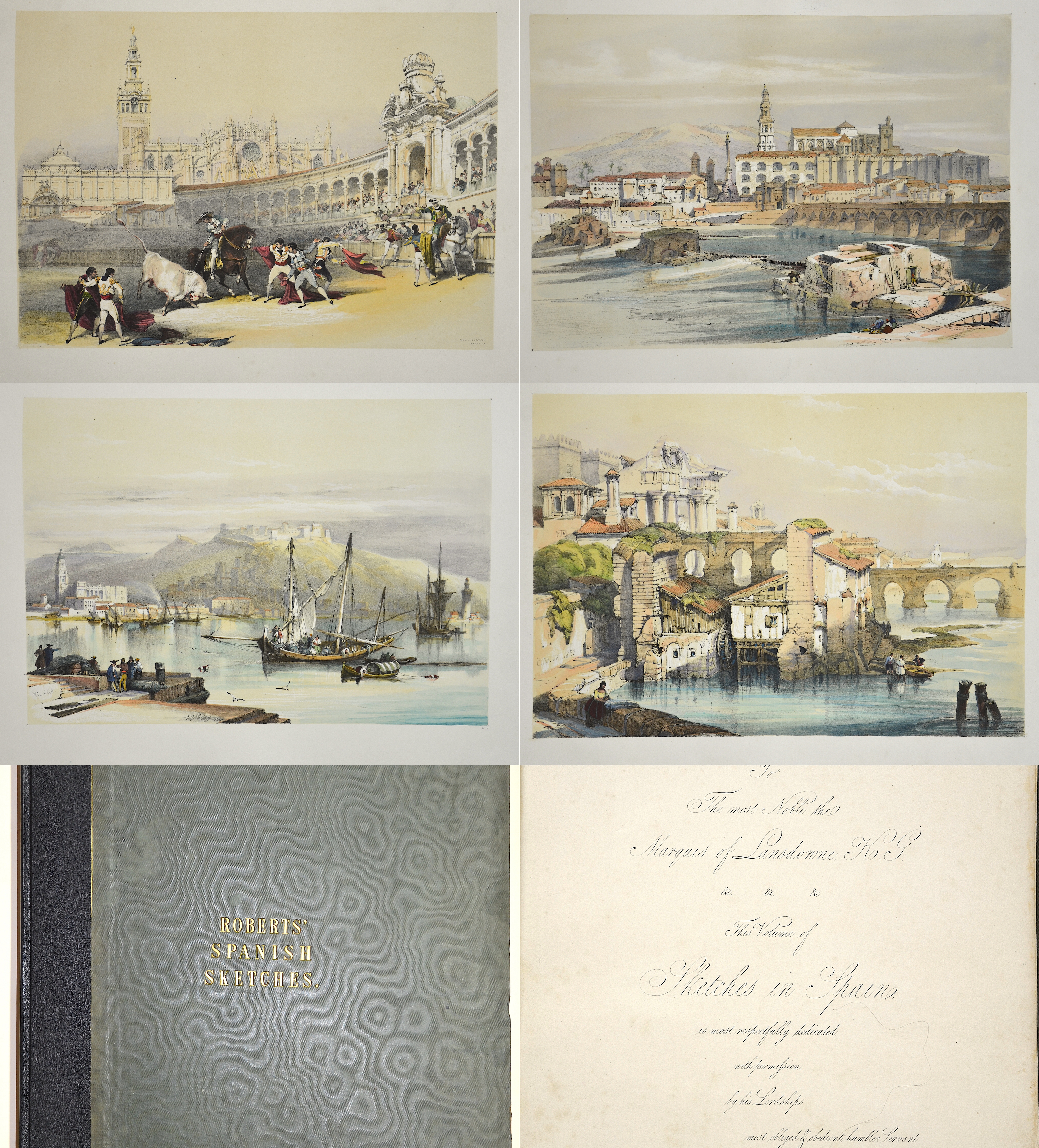 Roberts  Roberts' spanish sketches.